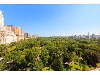 Duplex Penthouse with nearly 100 feet of frontage directly on Central Park South